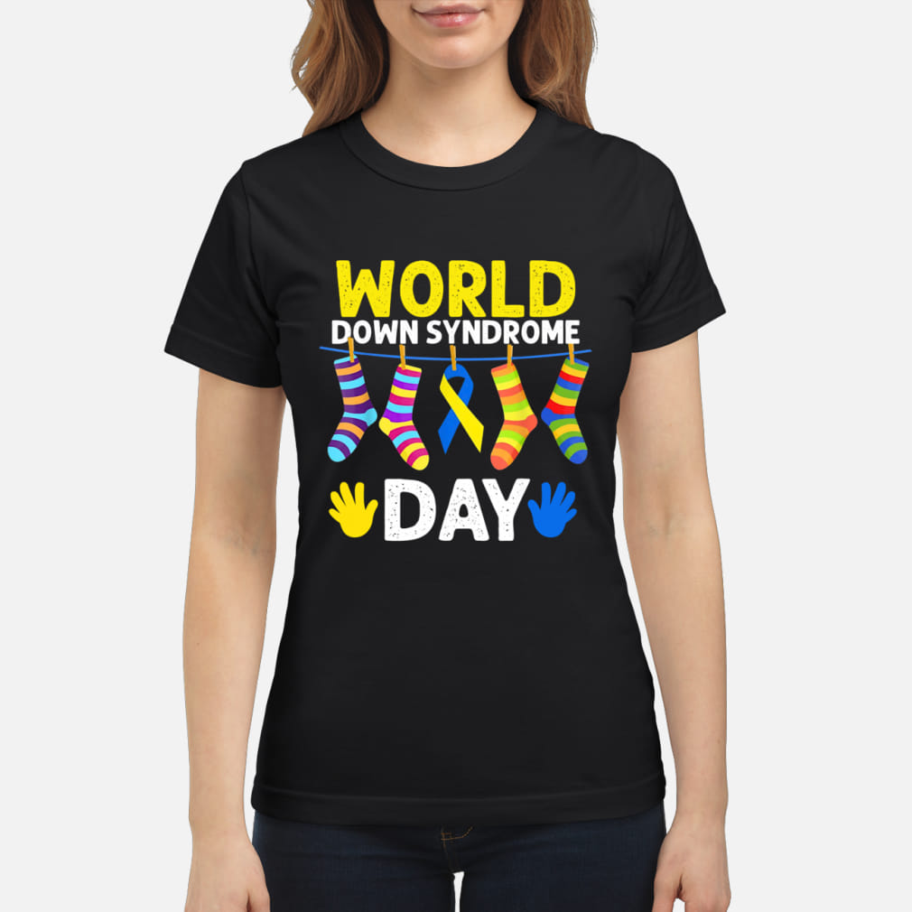 World Down Syndrome Day Awareness shirt ladies tee