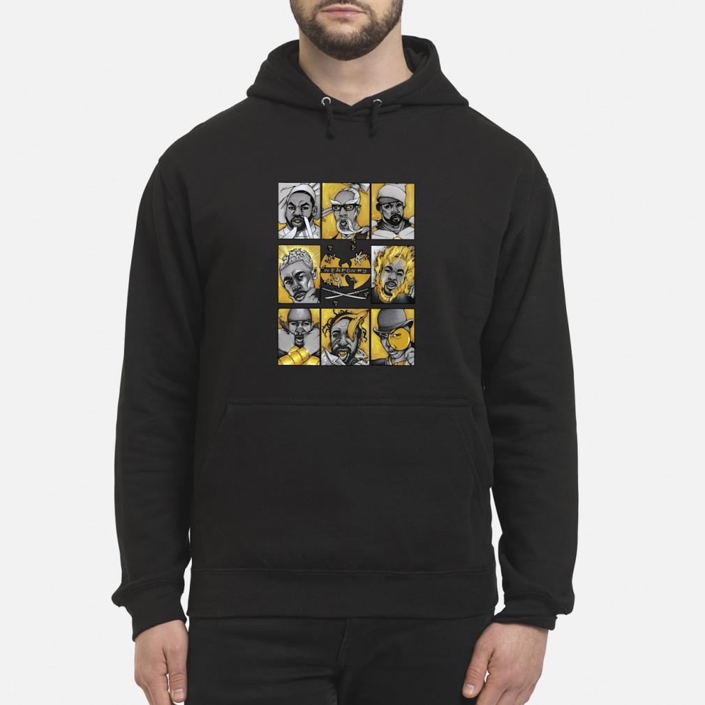 Wu-Tang Clan Hiphop Weaponry Shirt Hoodie