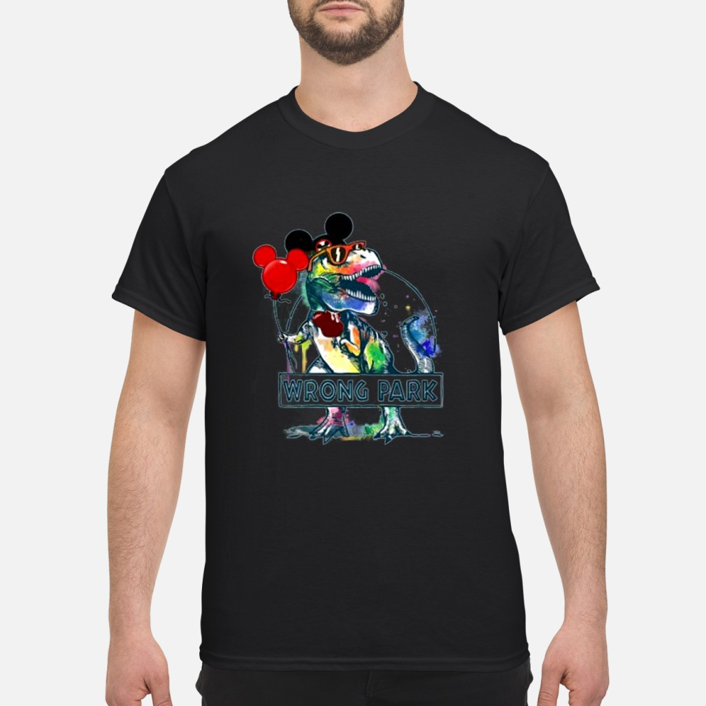 wrong park t rex shirt and Shirt