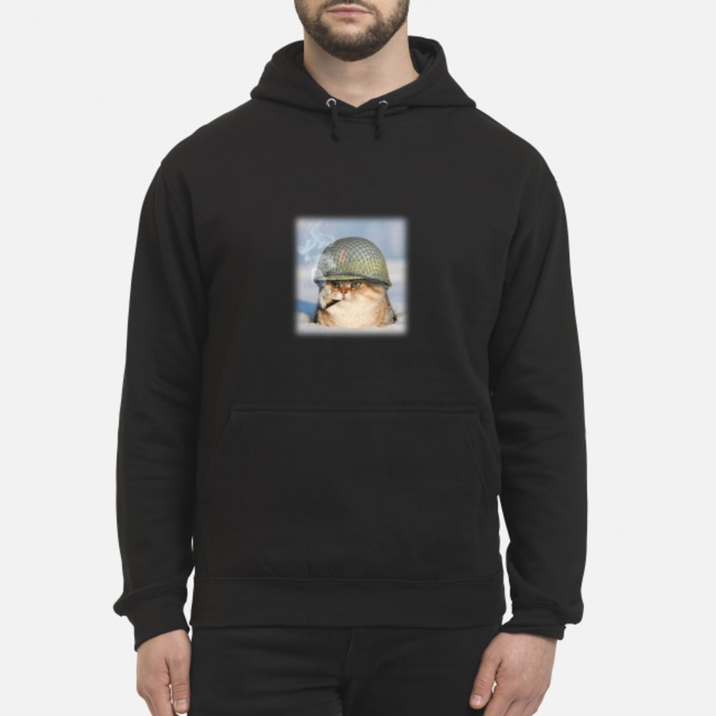 20190427107 War Cat Shirt hoodie