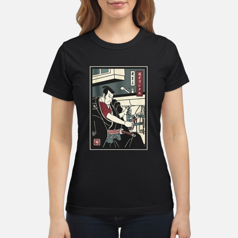 2019042719 Samurai Plumber shirt ladies tee