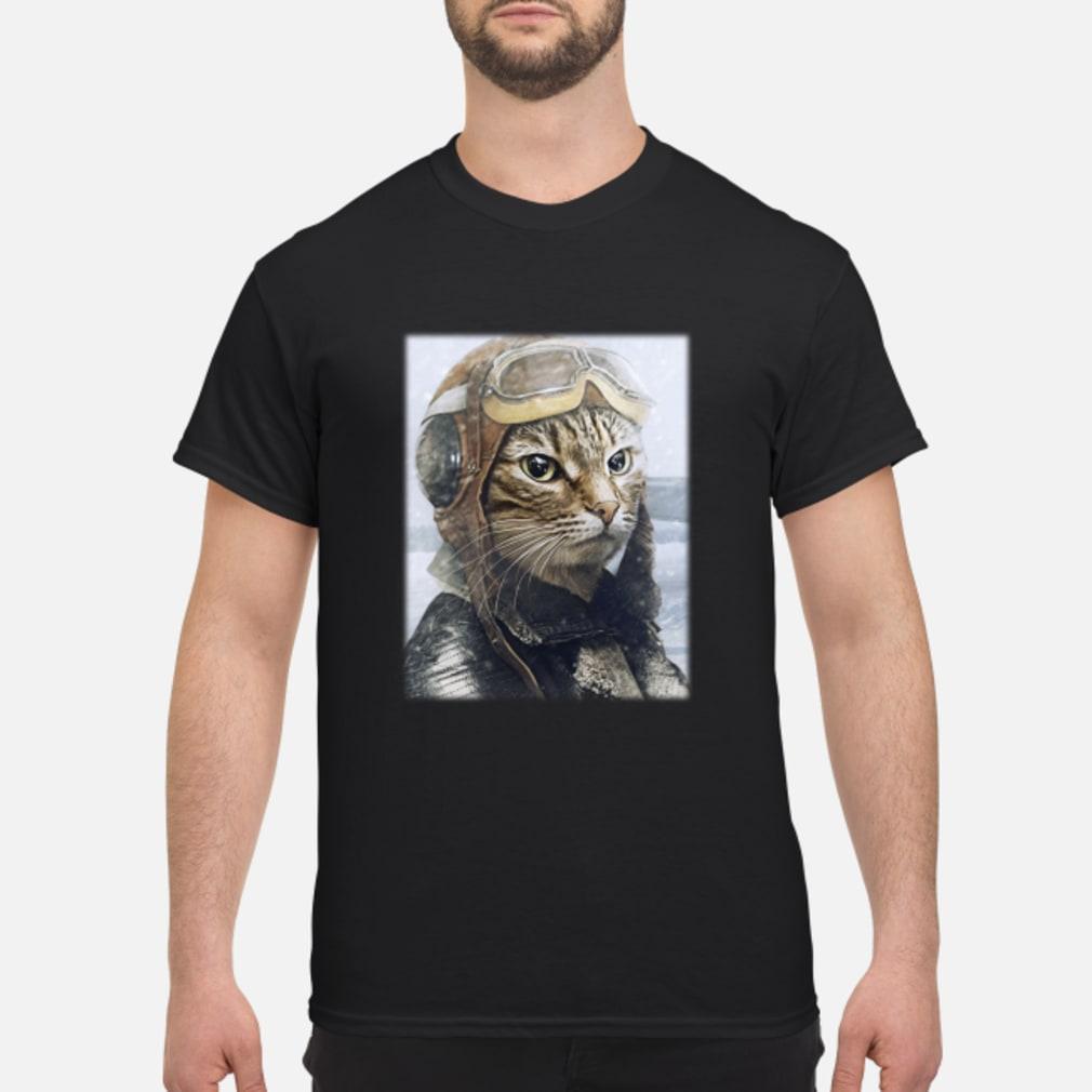 2019042790 Cat Pilot Shirt