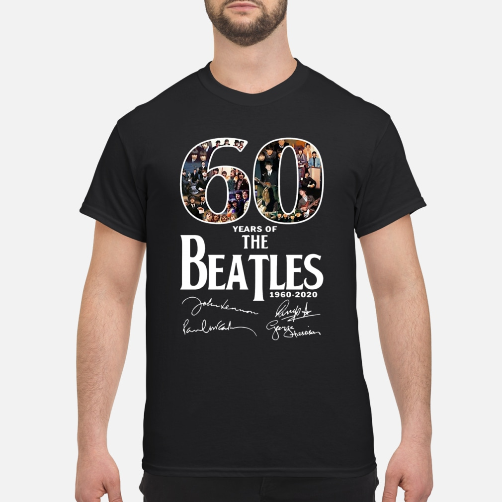 60 Years Of The Beatles Shirt