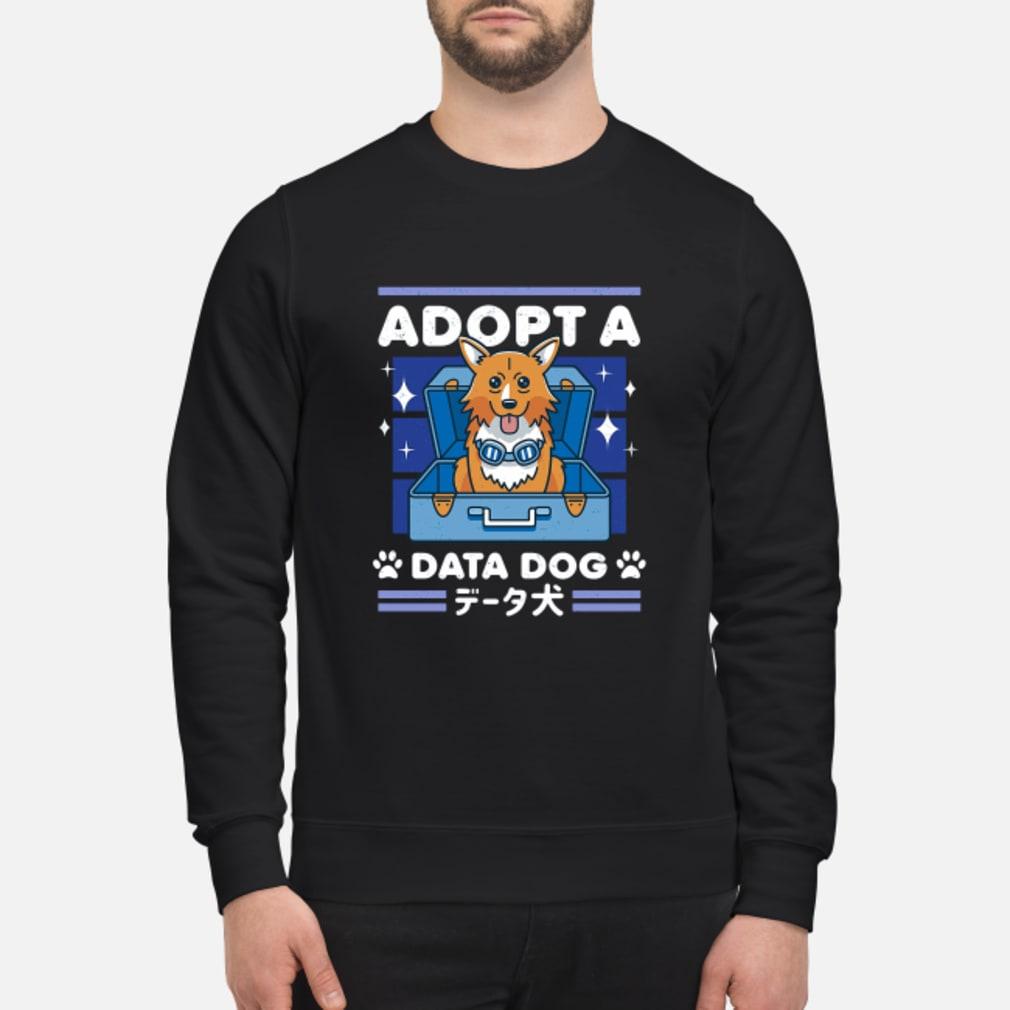 Adopta data dog shirt sweater