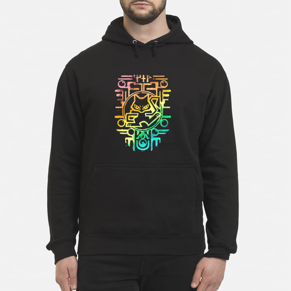 Ancient Rainbow color shirt hoodie