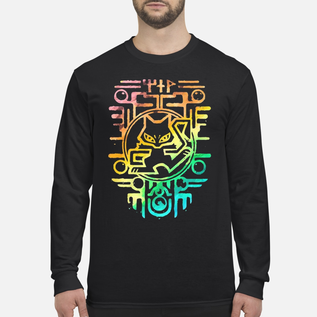 Ancient Rainbow color shirt Long sleeved