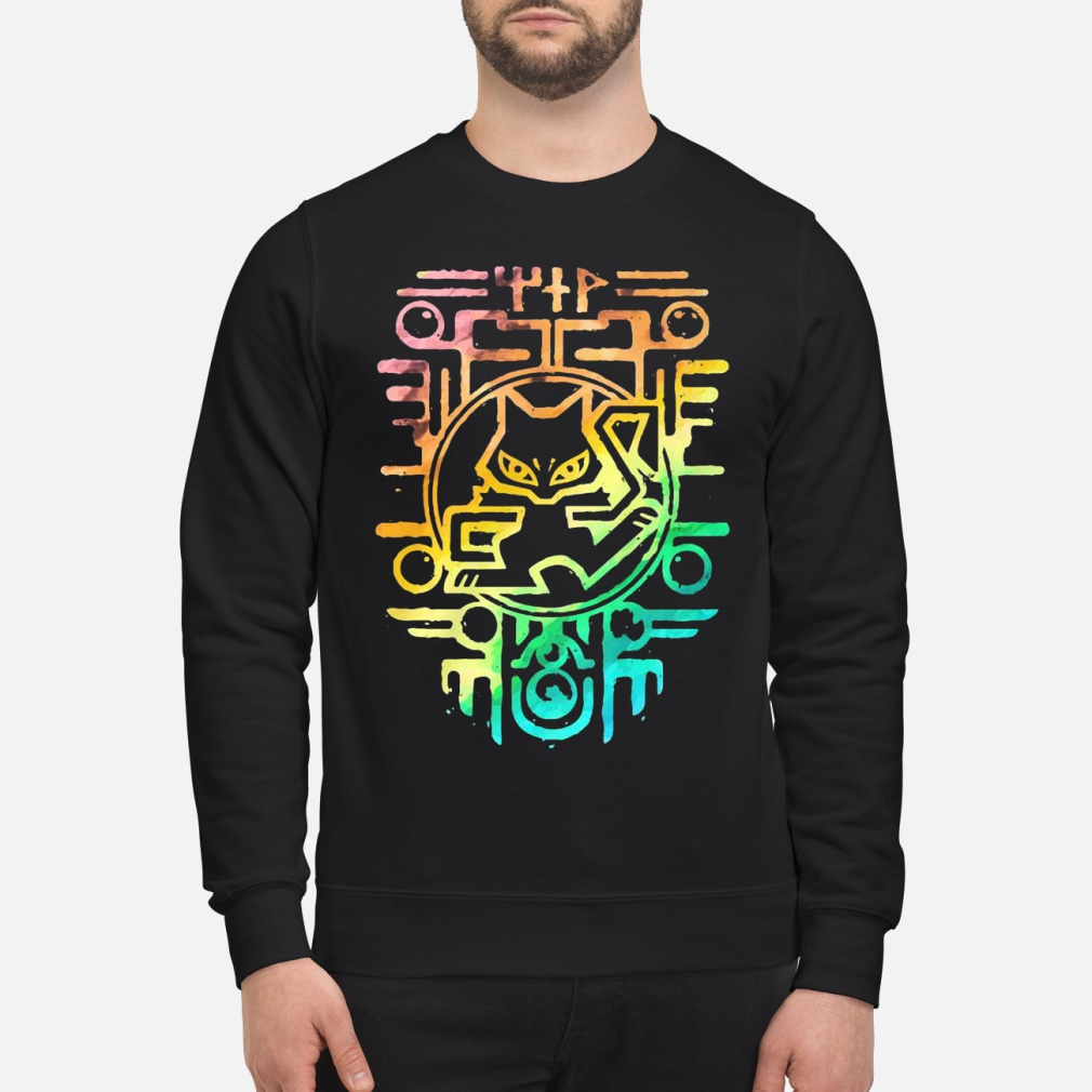 Ancient Rainbow color shirt sweater