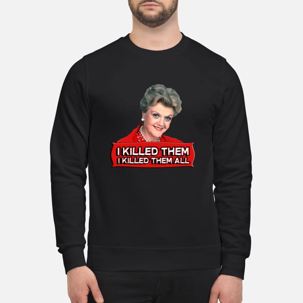 Angela Lansbury I killed them all shirt sweater