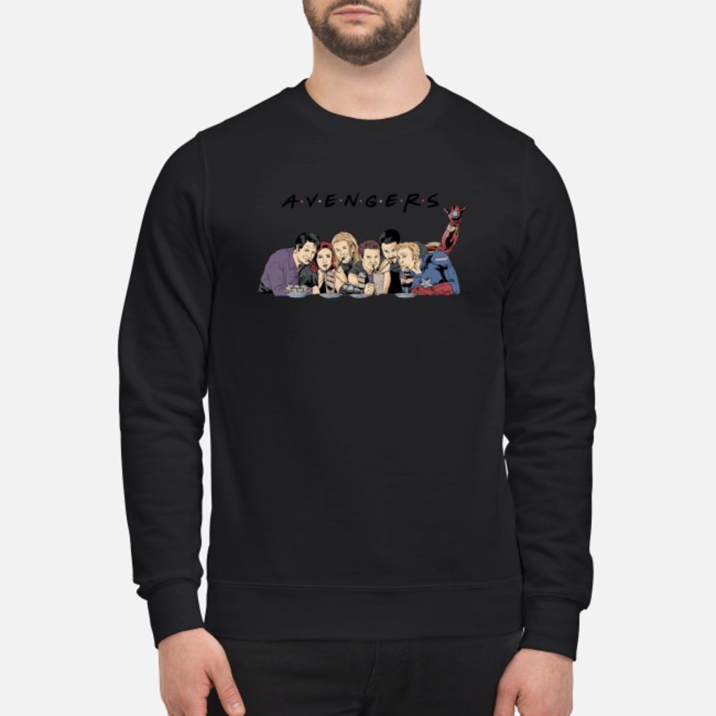 Avenger drinking ice cream shirt sweater