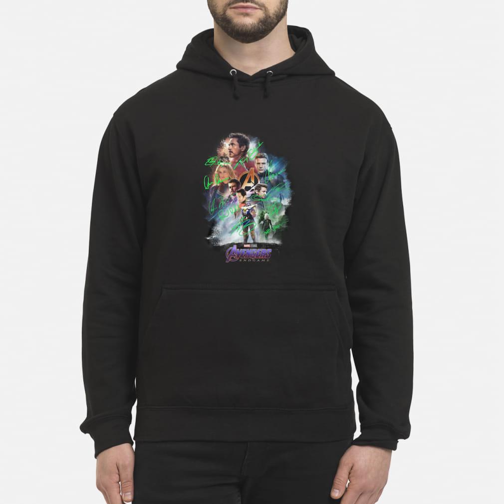 Avenger endgame poster gnature shirt hoodie