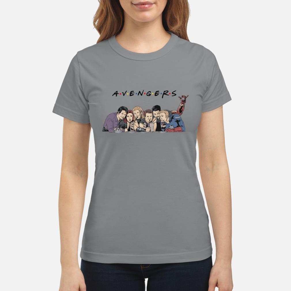Avengers Friends Shirt ladies tee
