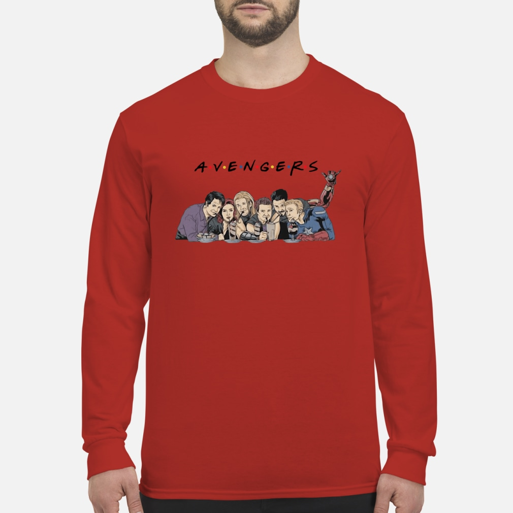 Avengers Friends Shirt Long sleeved