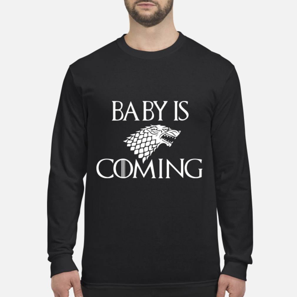 Baby is Coming Maternity Game of Thrones shirt Long sleeved