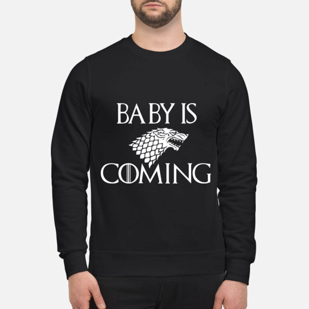 Baby is Coming Maternity Game of Thrones shirt sweater