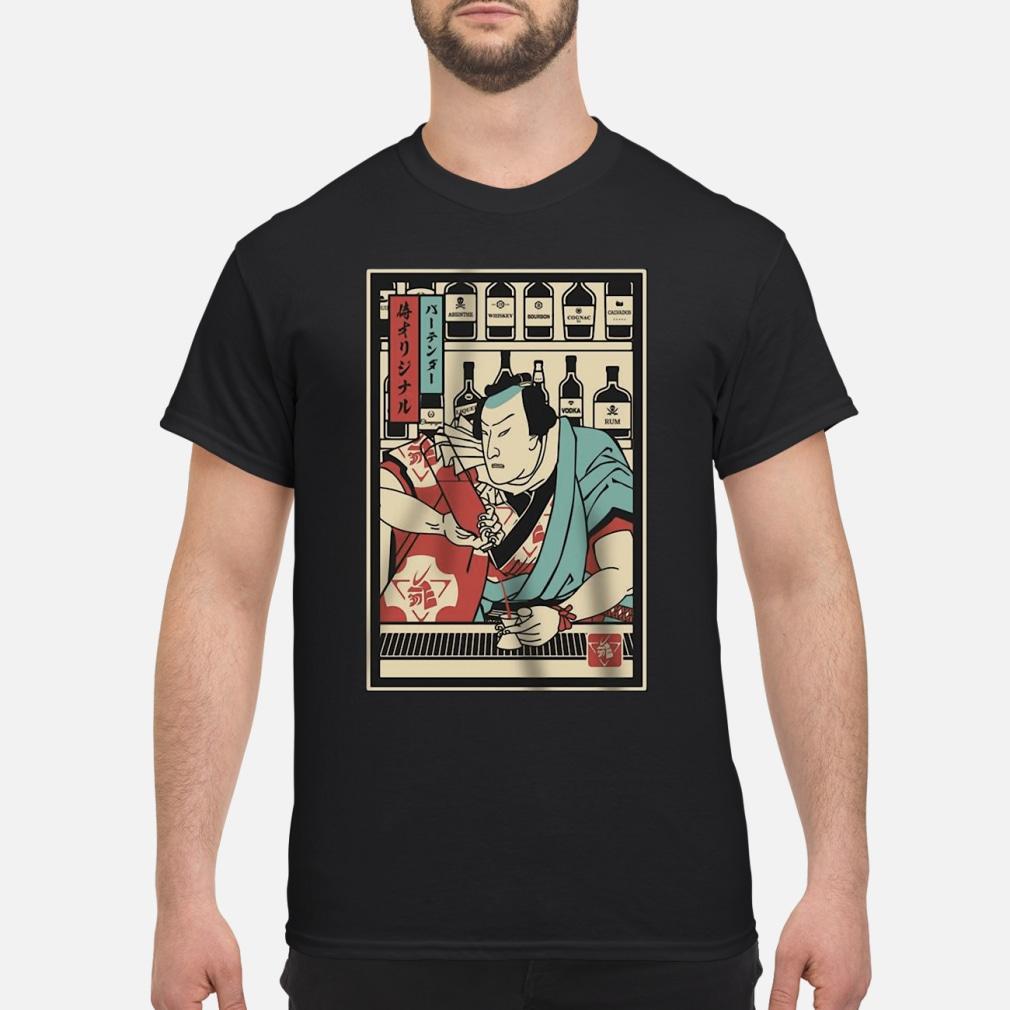 Bartender Samurai shirt