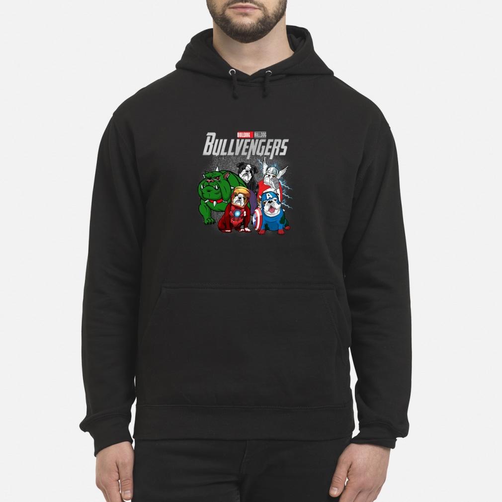Bullvengers Bulldog shirt hoodie