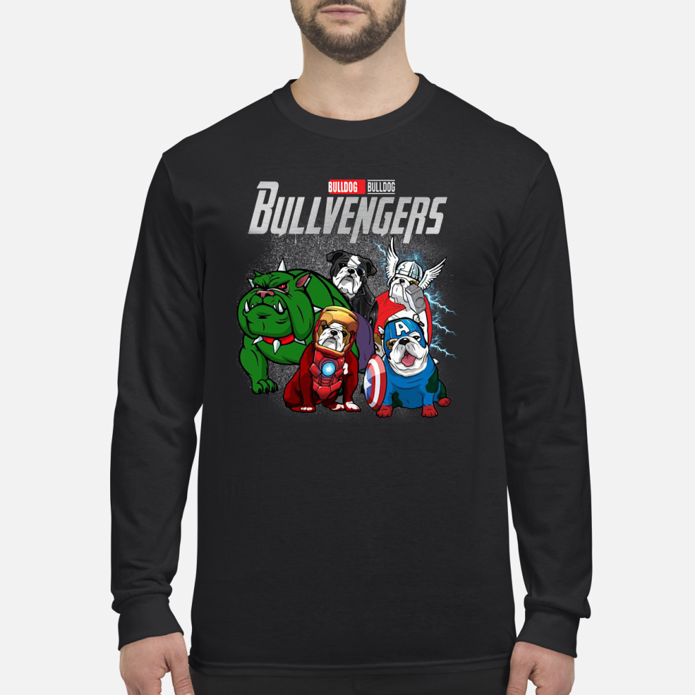 Bullvengers Bulldog shirt Long sleeved
