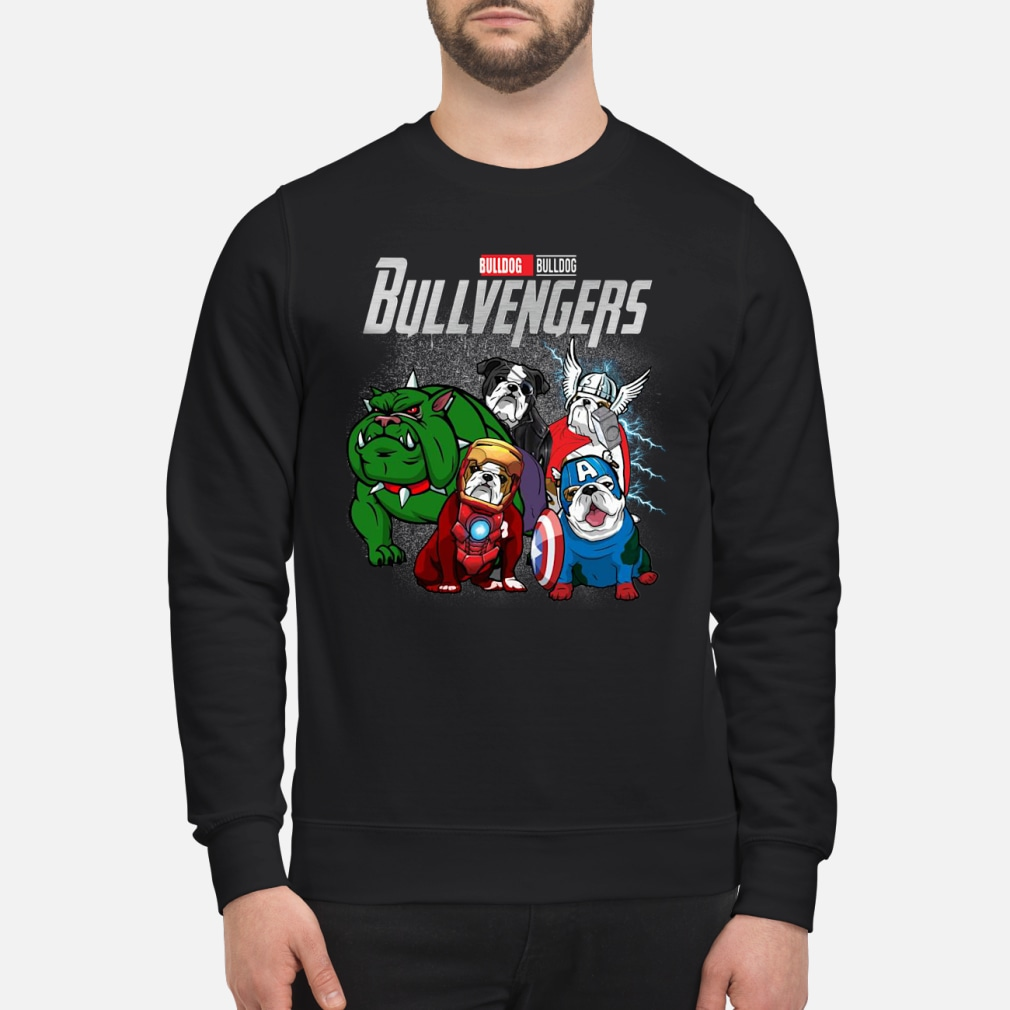 Bullvengers Bulldog shirt sweater
