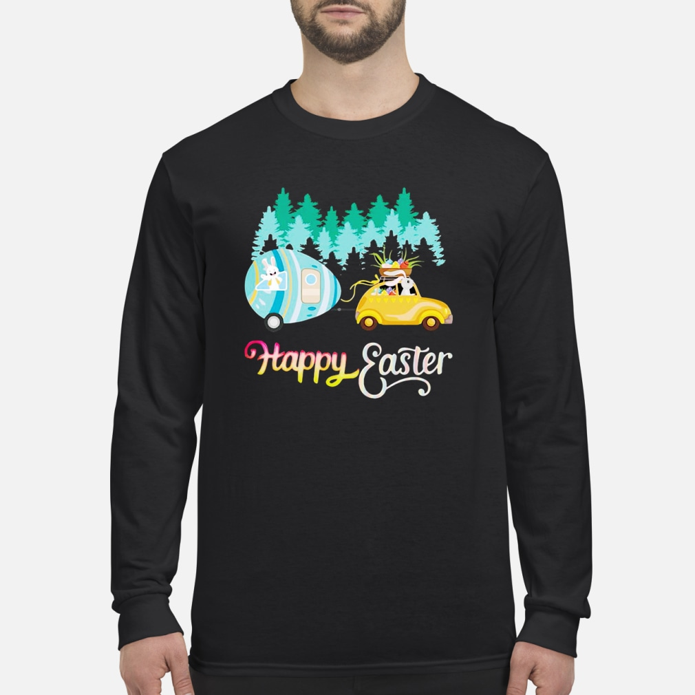 Camping Lover Happy Easter shirt Long sleeved
