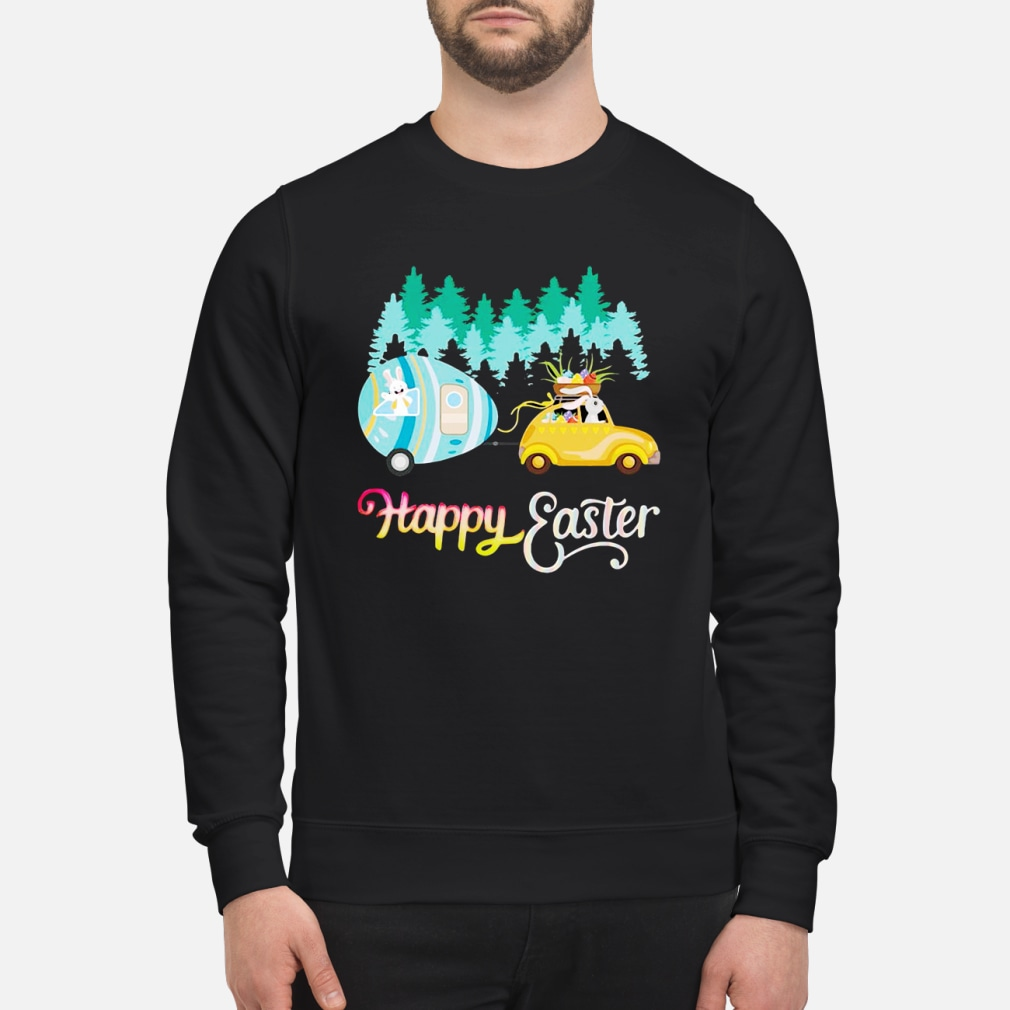 Camping Lover Happy Easter shirt sweater