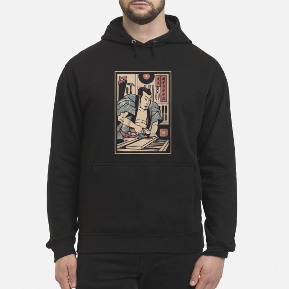 Carpentry Samurai ladies shirt hoodie