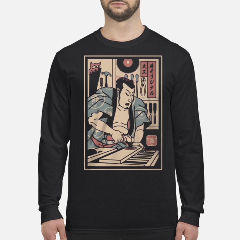 Carpentry Samurai ladies shirt Long sleeved