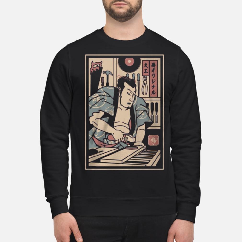 Carpentry Samurai ladies shirt sweater