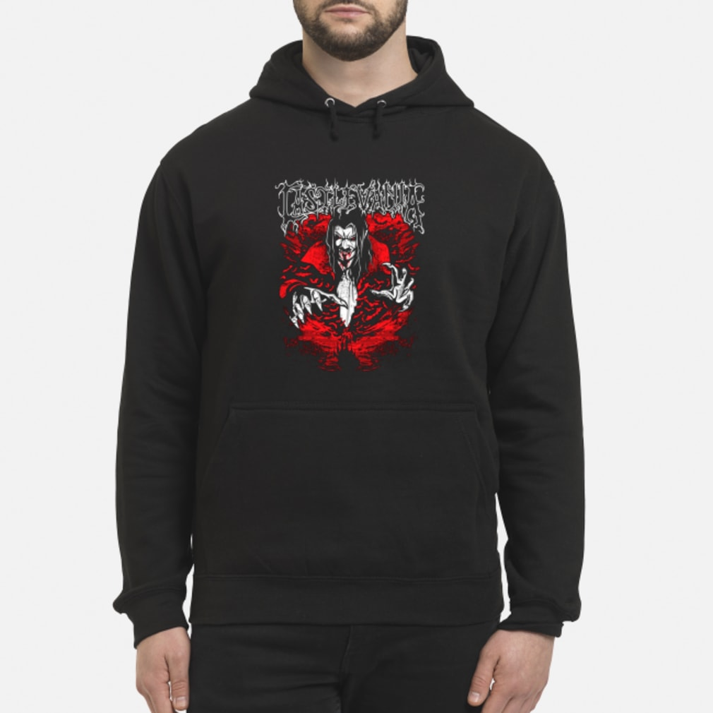 Castlevania dracula shirt hoodie