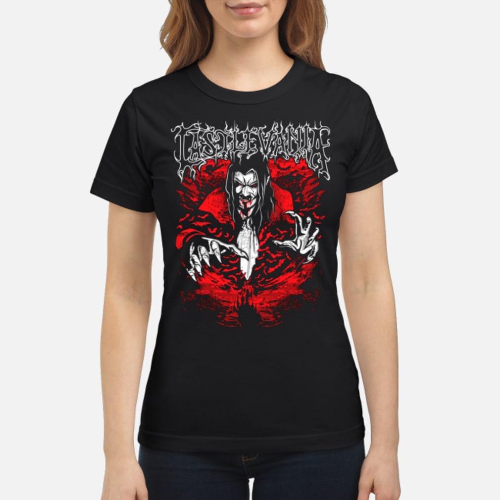 Castlevania dracula shirt ladies tee