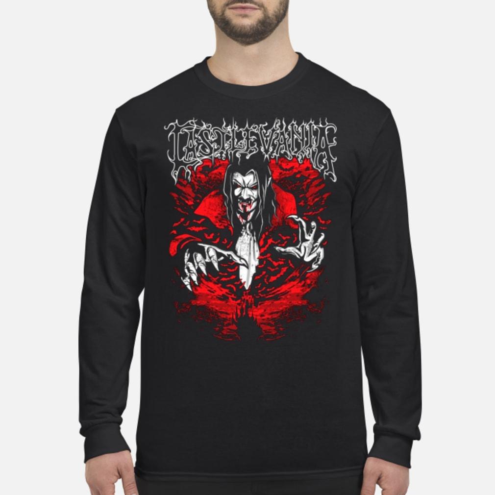 Castlevania dracula shirt long sleeved