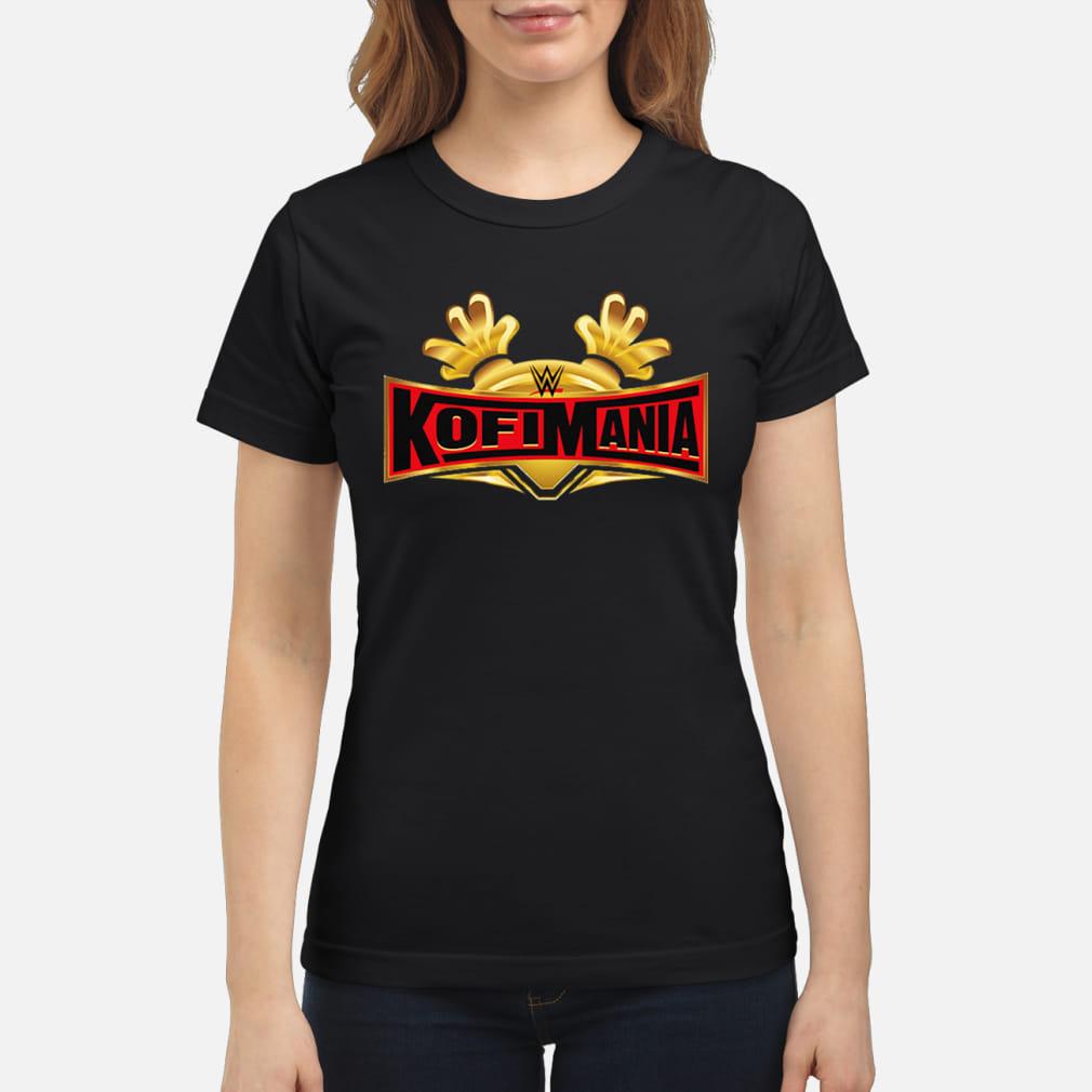 Clothing Black Kofi Kingston KofiMania shirt ladies tee