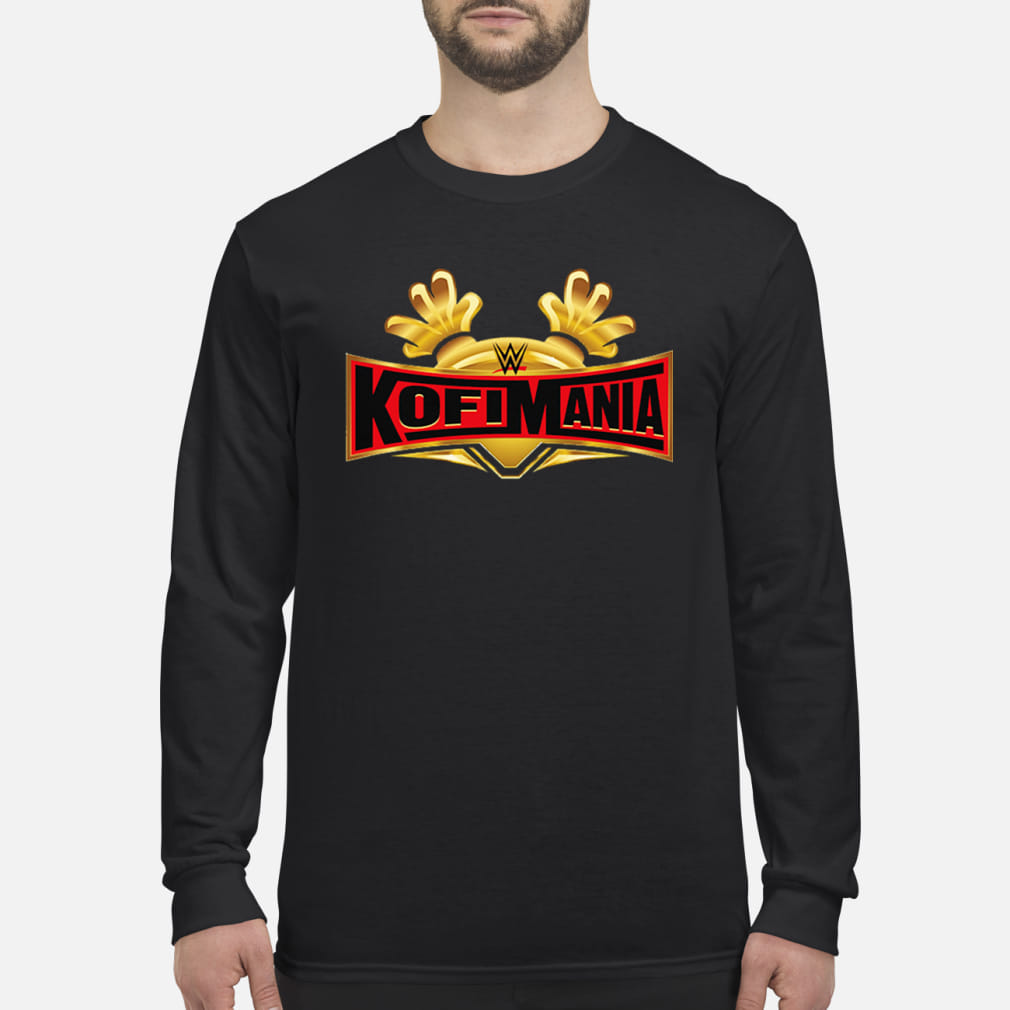 Clothing Black Kofi Kingston KofiMania shirt Long sleeved