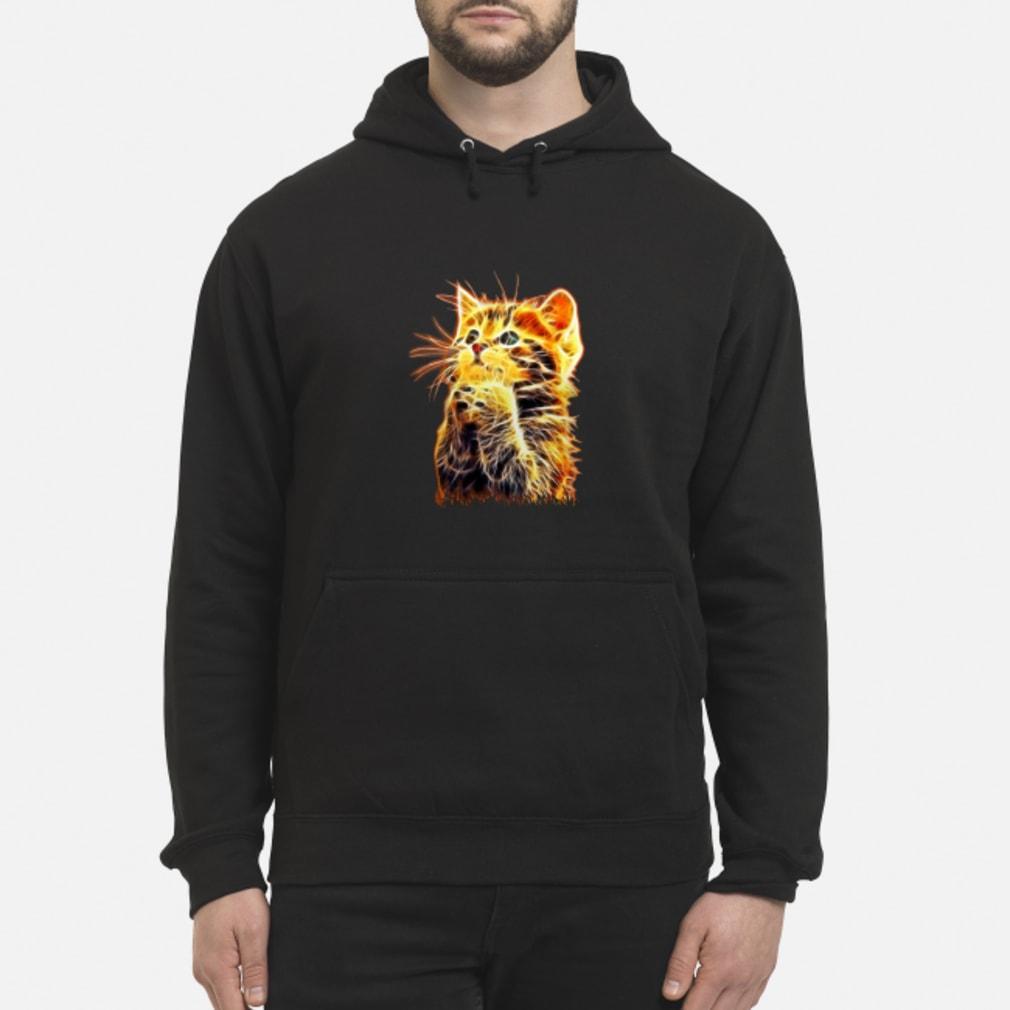 Cool Cat Pray ladies tee Shirt hoodie