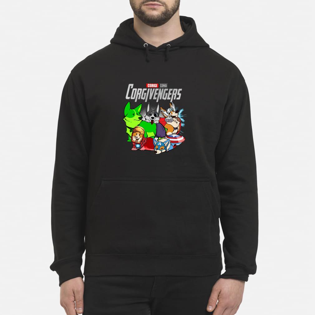 Corgi Corgivengers Shirt hoodie