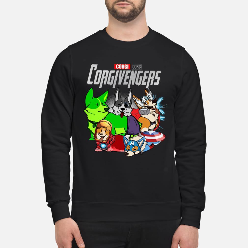 Corgi Corgivengers Shirt sweater