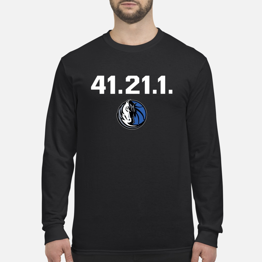 Dallas Mavericks Dirk 41 21 1 shirt Long sleeved