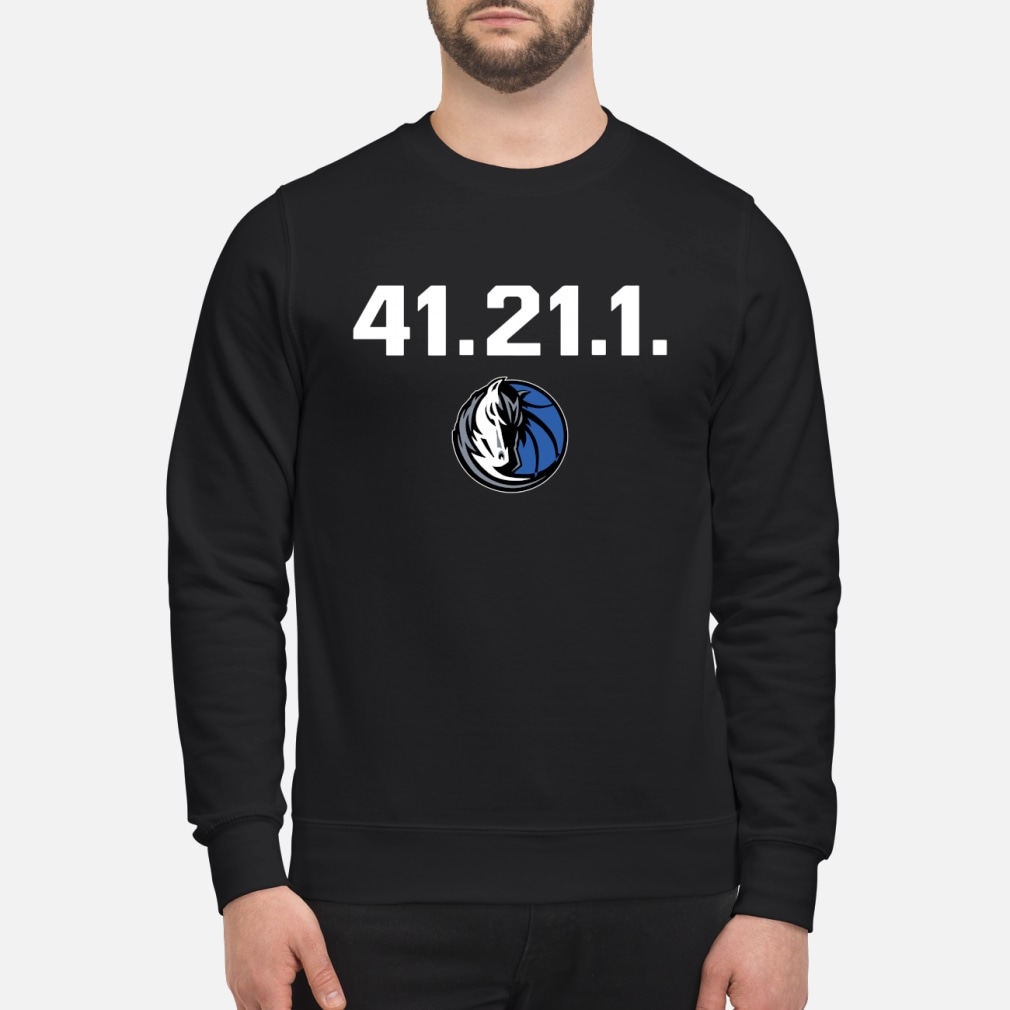 Dallas Mavericks Dirk 41 21 1 shirt sweater
