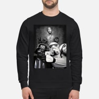 Darth Vader and Stormtroopers take a selfie shirt sweater