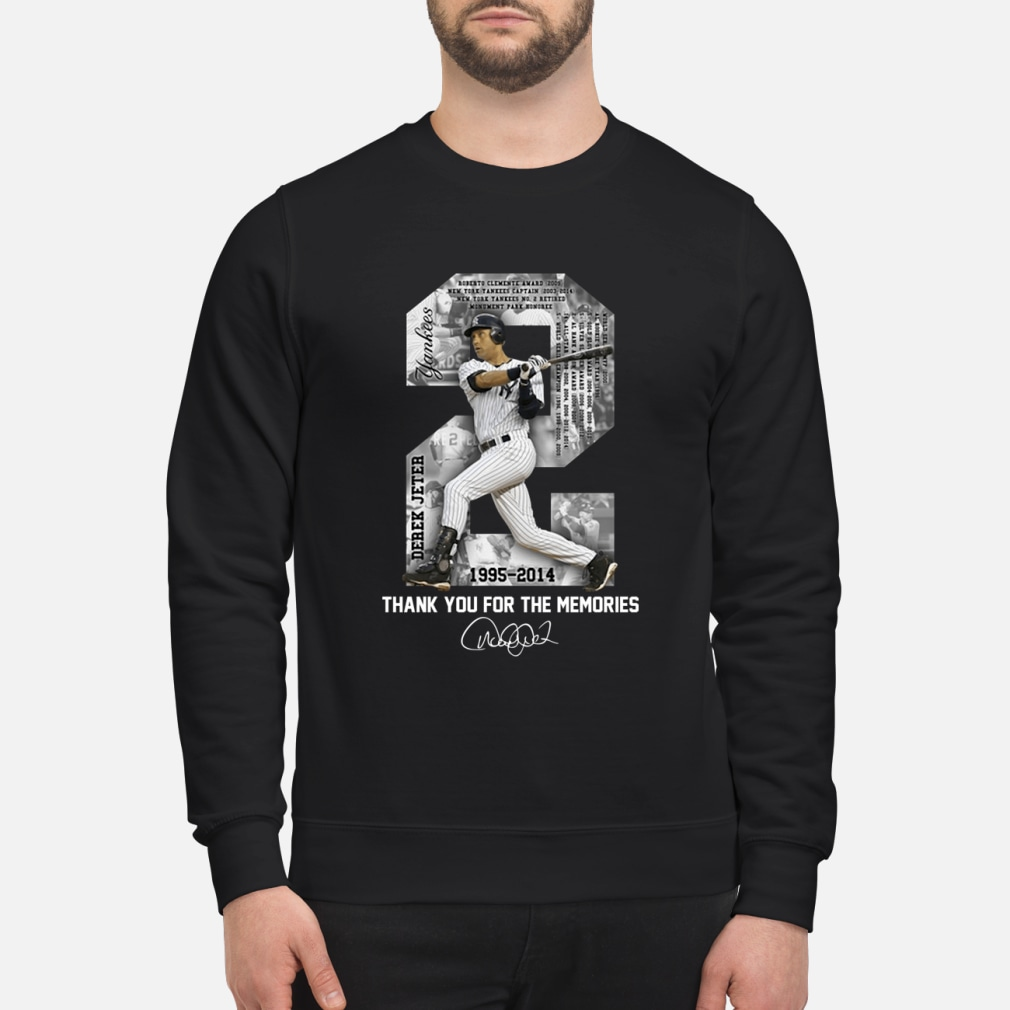 Derek Jeter Thank you for the memories shirt sweater