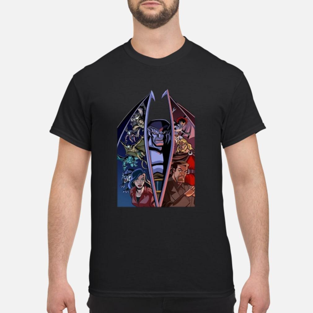 Disney Gargoyles Cinestory Comic ladies tee Shirt