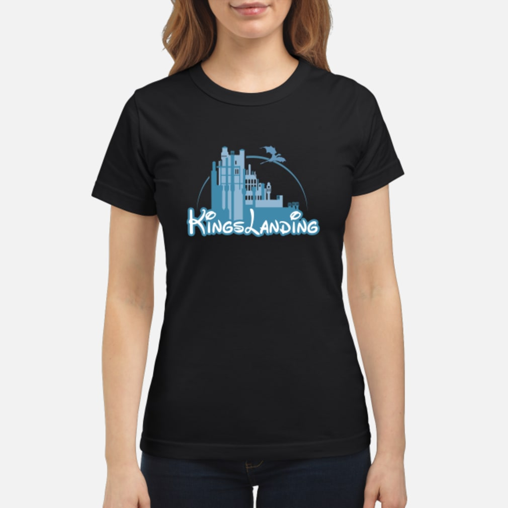 Disney Kings landing shirt ladies tee