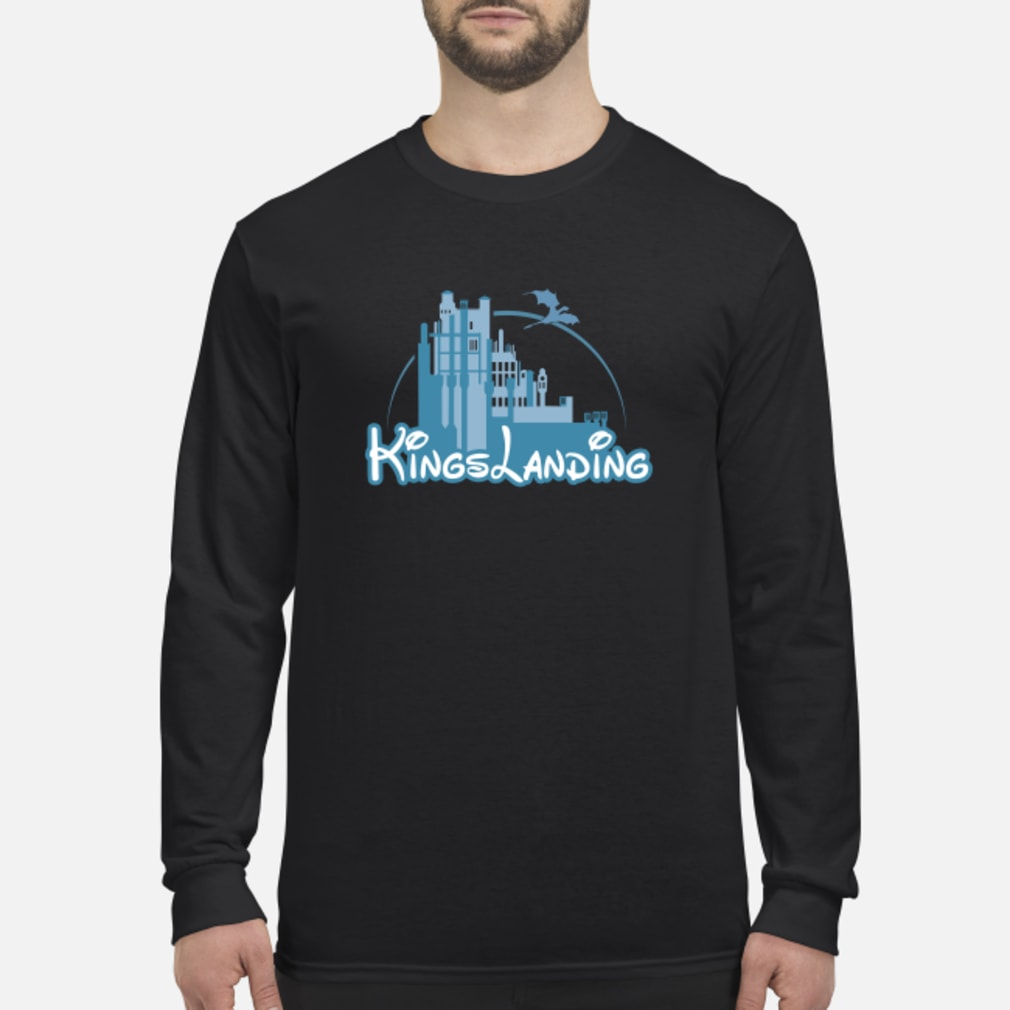 Disney Kings landing shirt Long sleeved