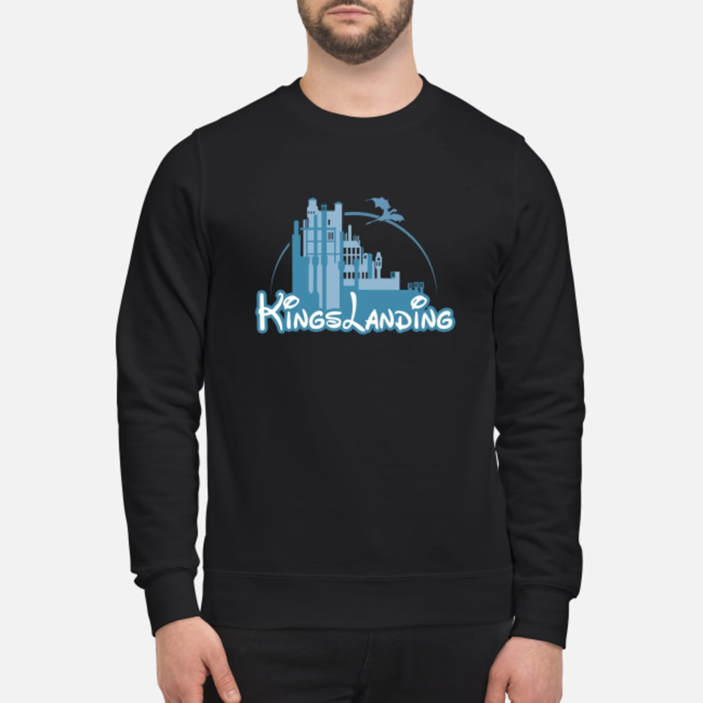 Disney Kings landing shirt sweater