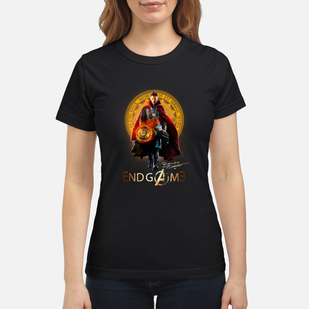 Doctor Strange Marvel Avengers Endgame shirt ladies tee