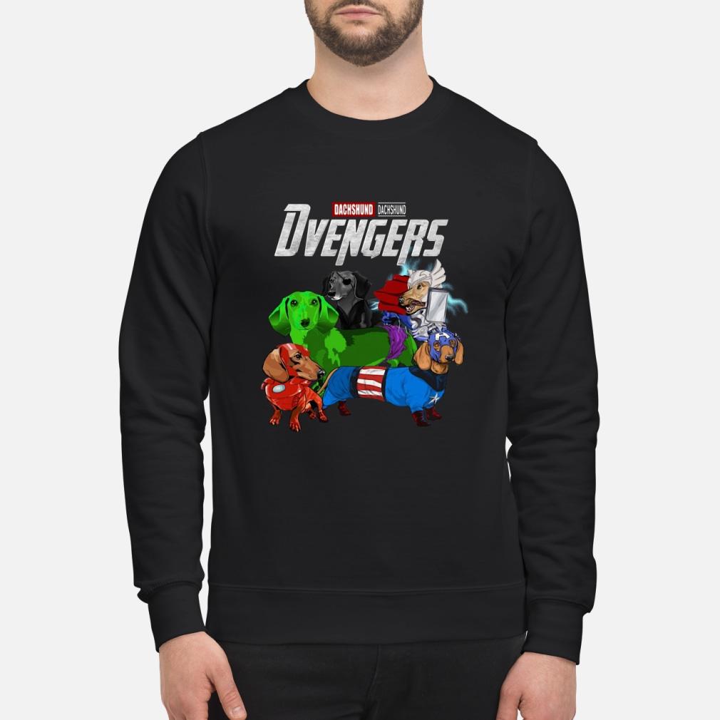 Dvengers Dachshund version shirt sweater