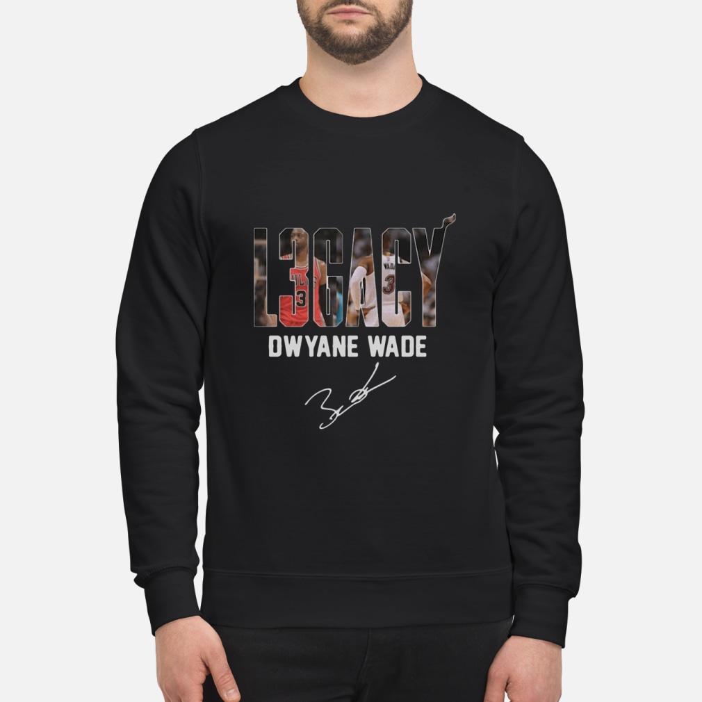 Dwyane Wade Legacy signature shirt sweater