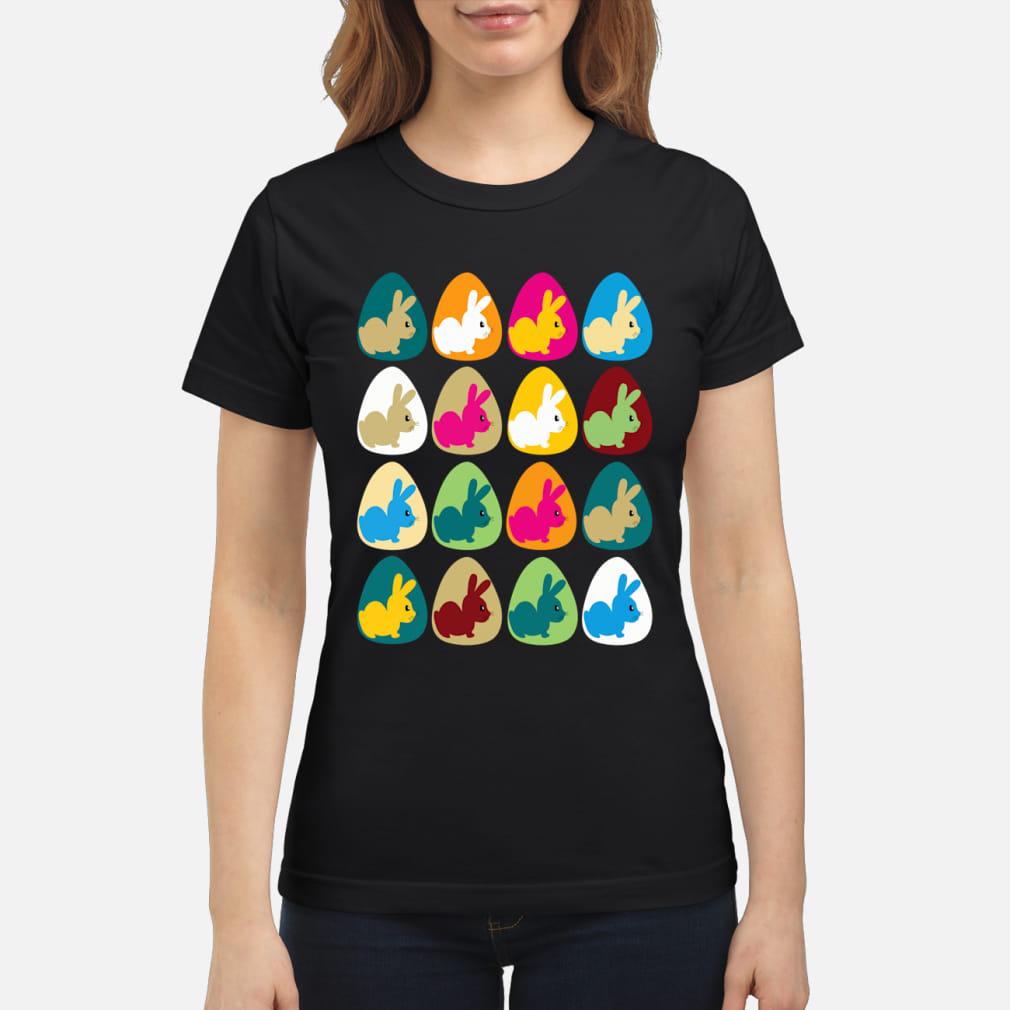 Easter Rabbit Bunny shirt ladies tee