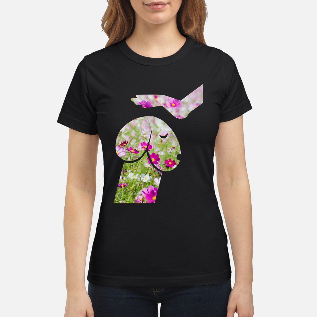 Flower Dickhead Dog Noma Bar ladies shirt ladies tee