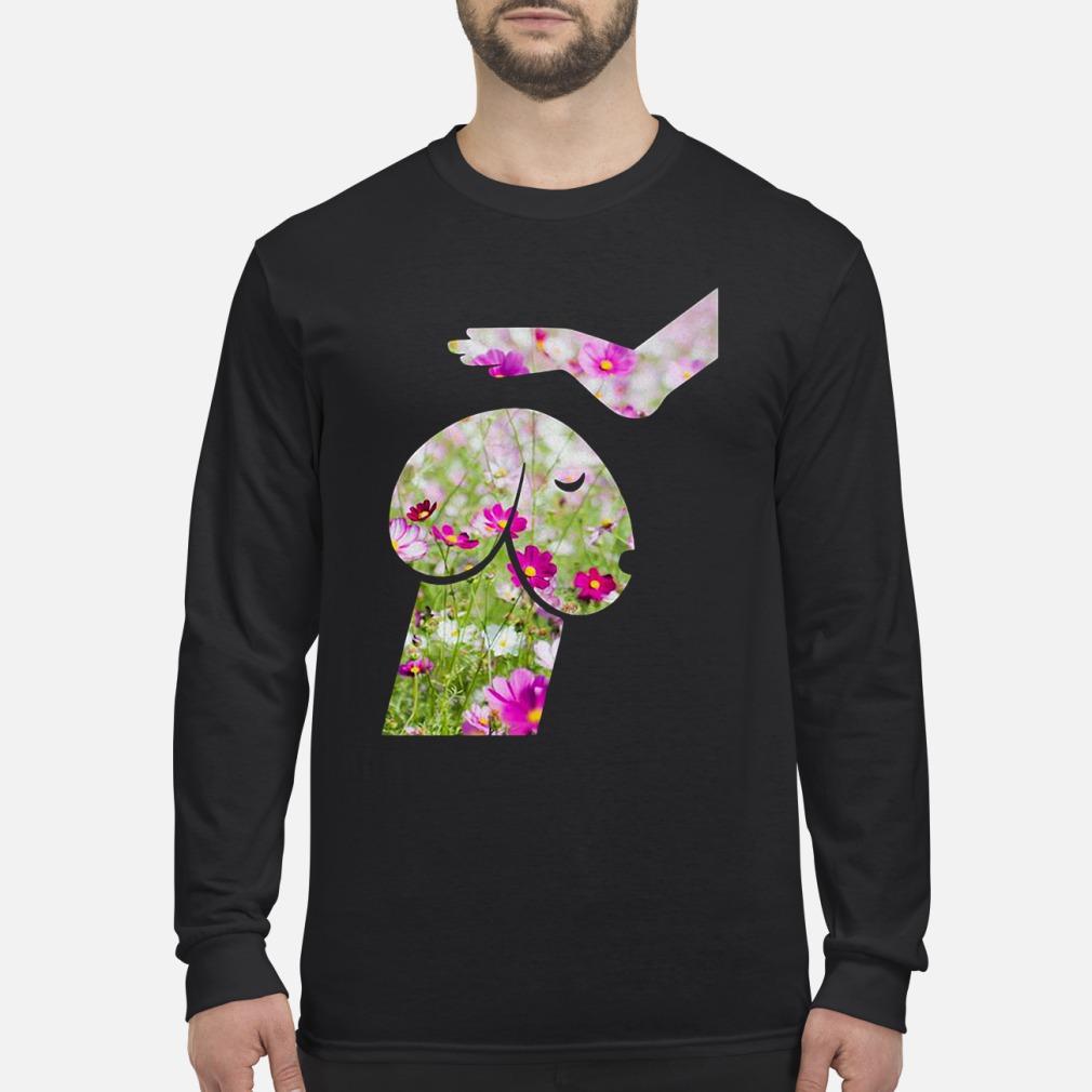 Flower Dickhead Dog Noma Bar ladies shirt Long sleeved