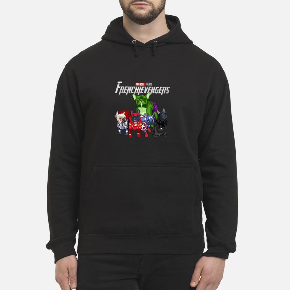 Frenchievengers French Bulldog shirt hoodie